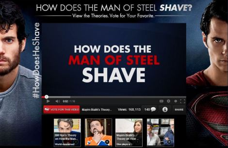 gillette how does he shave