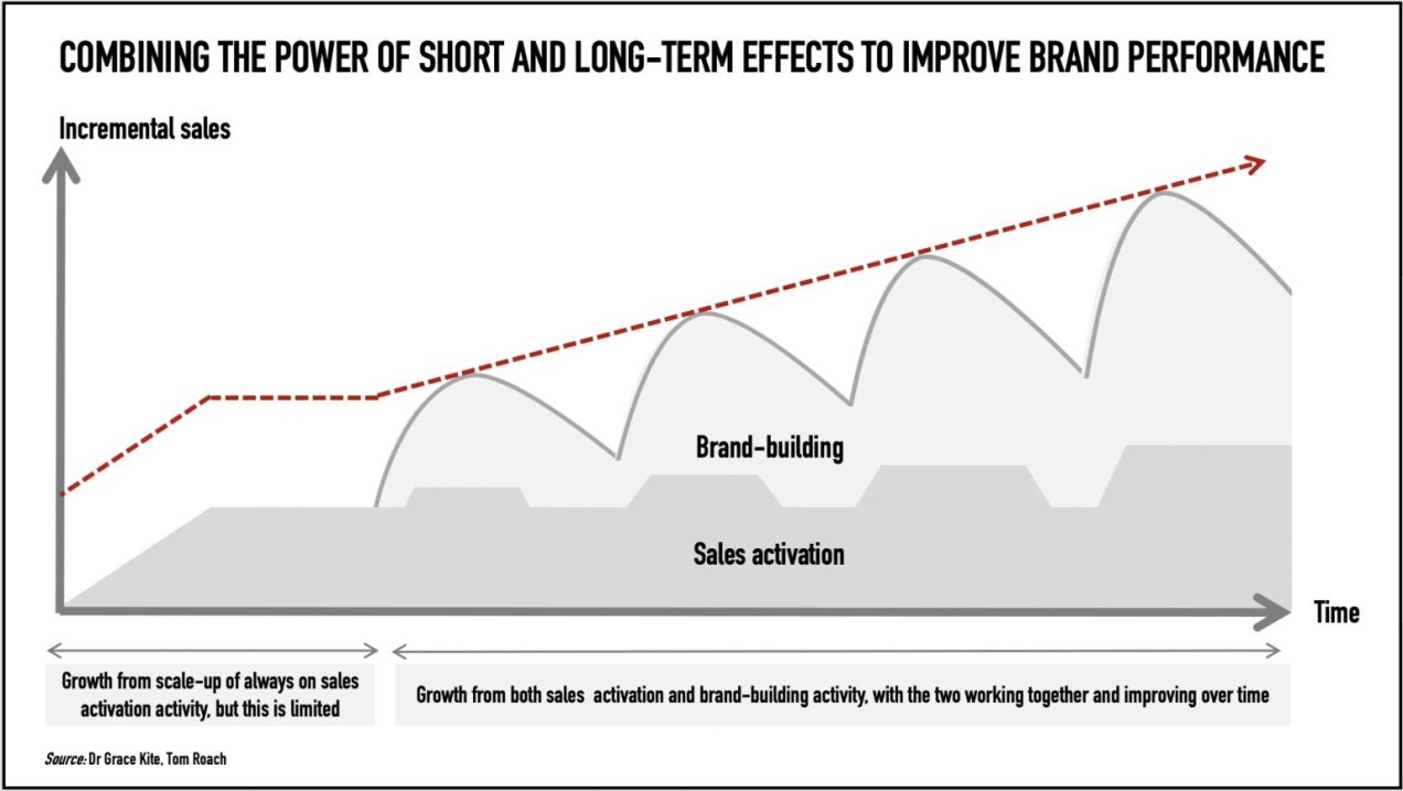 Combining the power of short and long-term effects to improve brand performance